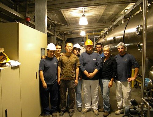 Vacuum Belt Dryer Project in Chile