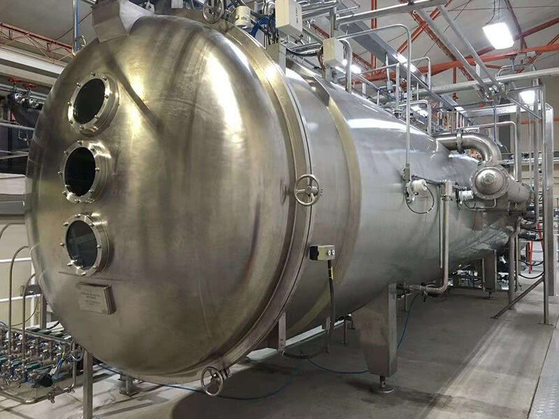 Malterxco S.A. Vacuum Belt Dryer Project in Chile 2