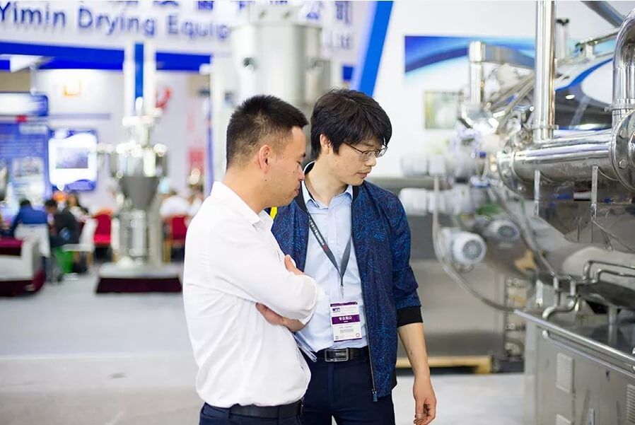 Minjie Attended CIPM in Wuhan with Vacuum Belt Dryer 01