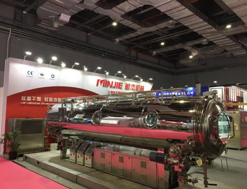 Shanghai Minjie Machinery Attended FIC2019 with Vacuum Belt Dryer