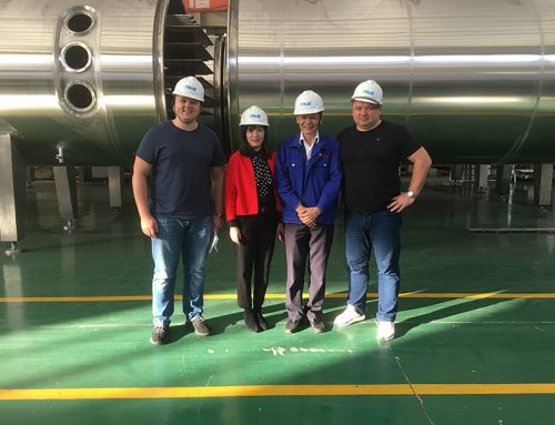 Vacuum Belt Dryer Project in Ukraine