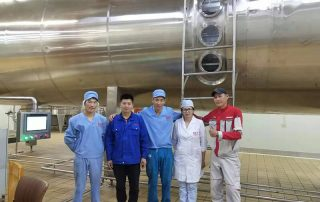 TESO Group Vacuum Belt Dryer and Vacuum Low temperature evaporator Project in Mongolia 1