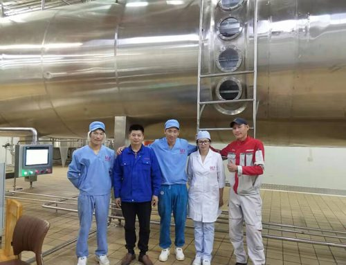 TESO Group Vacuum Belt Dryer and Vacuum Low temperature evaporator Project in Mongolia