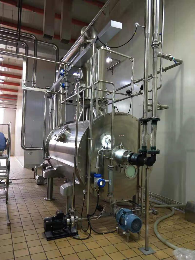 TESO Group Vacuum Belt Dryer and Vacuum Low temperature evaporator Project in Mongolia 2