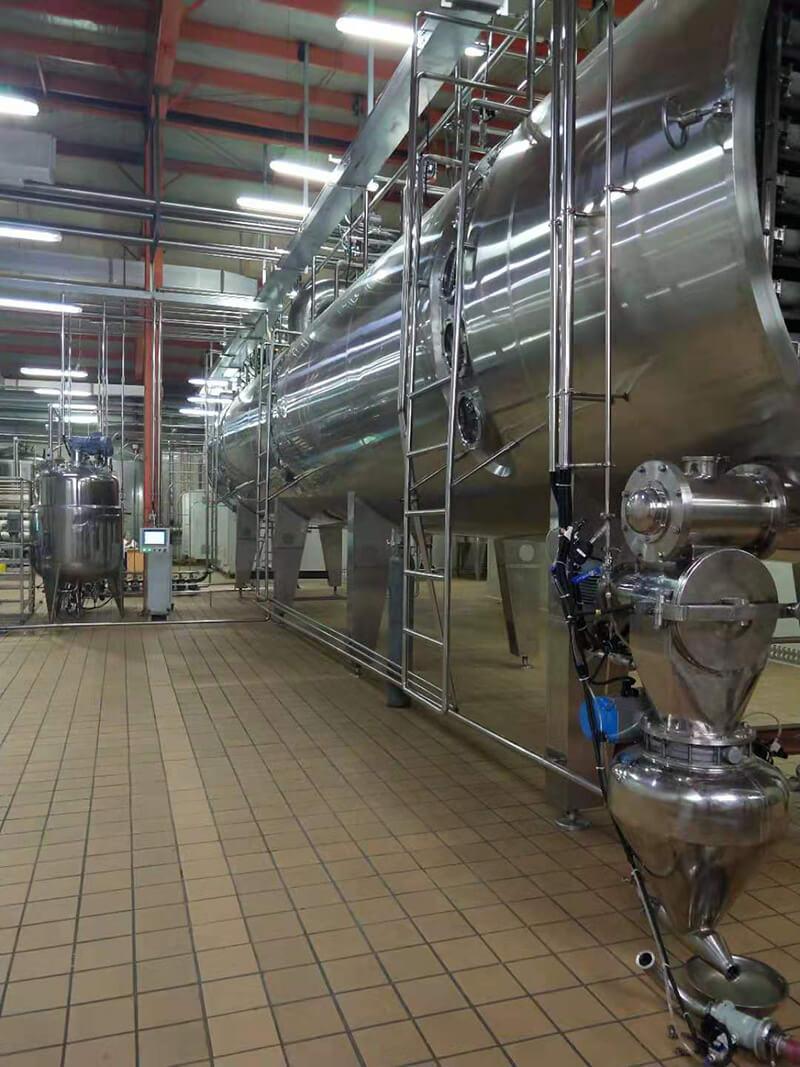 TESO Group Vacuum Belt Dryer and Vacuum Low temperature evaporator Project in Mongolia 5