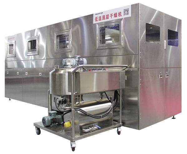 Thin-layer-drying-system