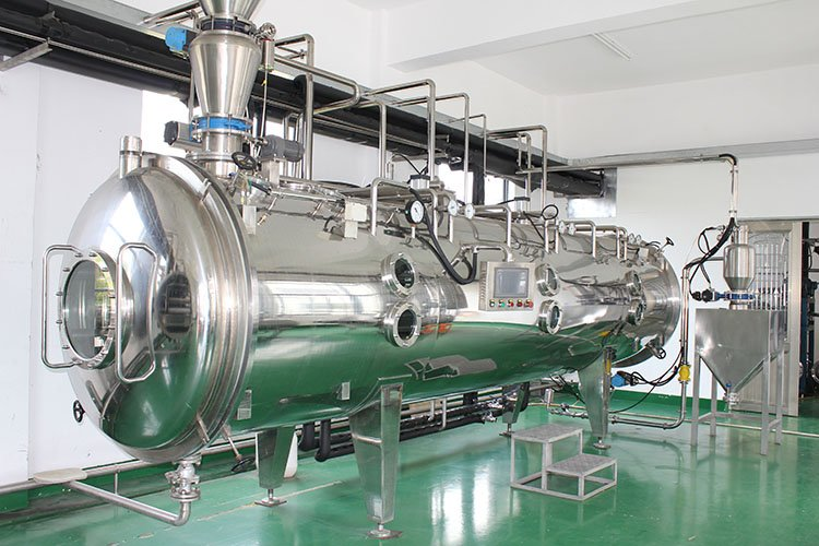 Vacuum belt dry for powder& particle 1