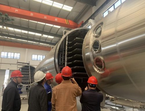 Focus|Minjie vacuum low temperature continuous dryer successfully passed FAT